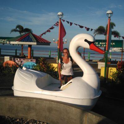 Unser Traum vom Tretbootschwan