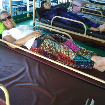 Im Doppelbett nach Cebu
