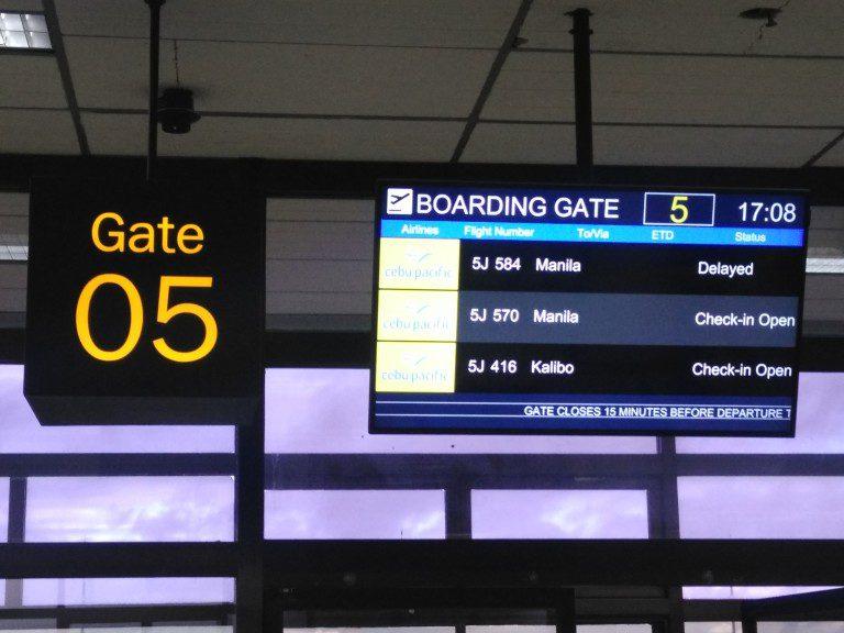 Reisetag Cebu nach Manila