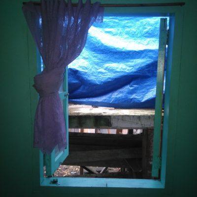 Ausblick vom unserem Zimmer. Schick oder ?