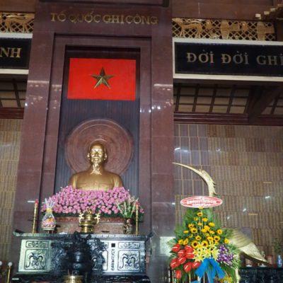 Im Tempel. Fotografieren verboten