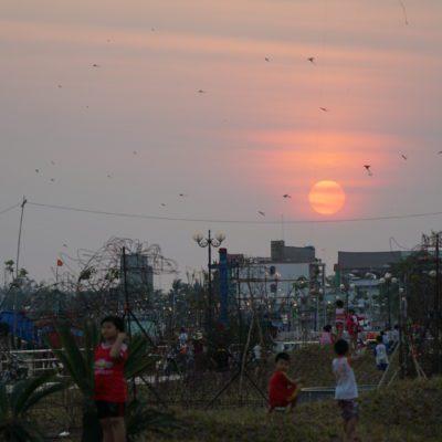 Sonnenuntergang My Tho