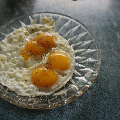 Frühstück vor der Abfahrt