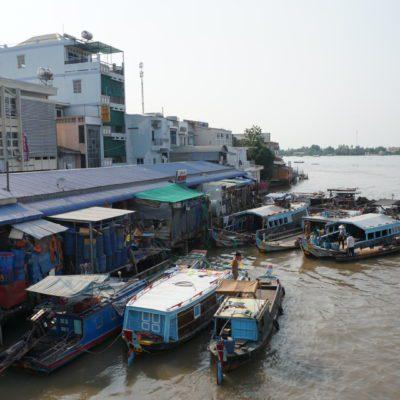 Vinh Long Markt
