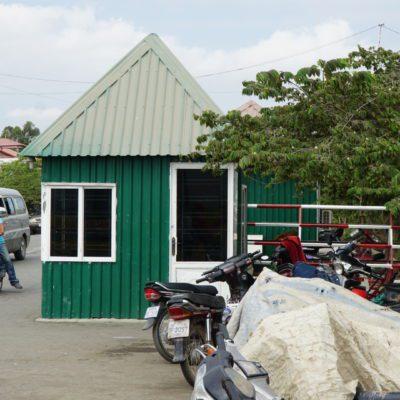 Grenzhaus Kambodscha