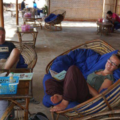Nach der Ankunft in Sihanoukville erstmal abhängen