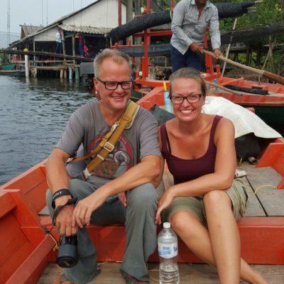 Im Boot durch die Mangroven