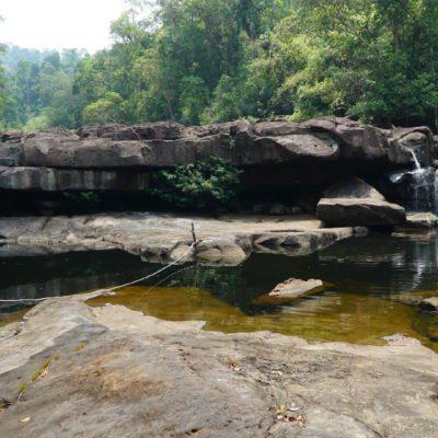 Wasserfall ( gerade Trockenzeit )