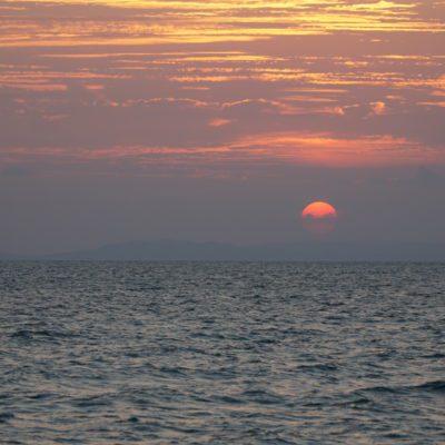 Sonnenuntergang die 18.000