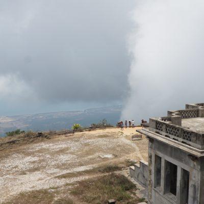 Geil wie da die Wolken durchgezogen sind