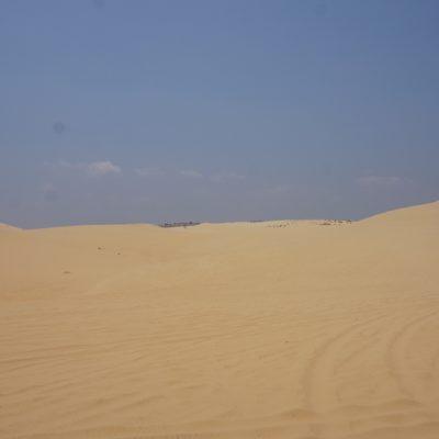 Weit und breit nur Sand