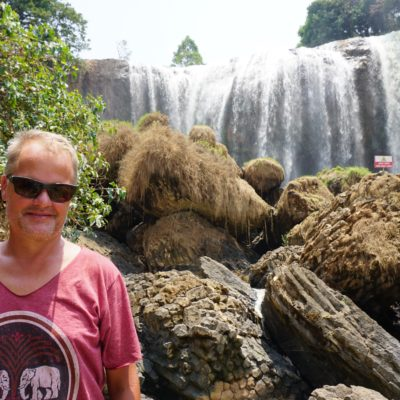 Elephant Wasserfall