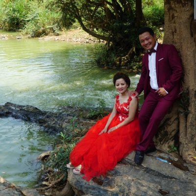 Und ne Hochzeit am Elephant Wasserfall