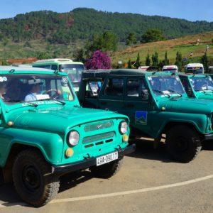 Jeep-Parade