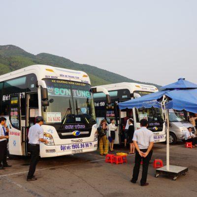 Unser Bus nach Hoi An