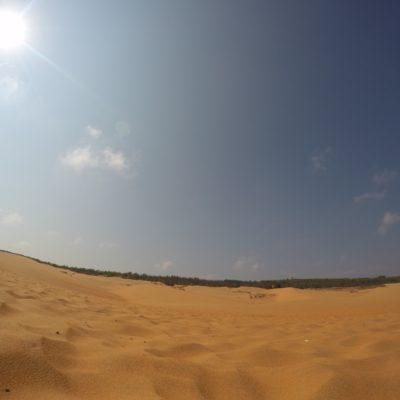 Rote Sanddüne