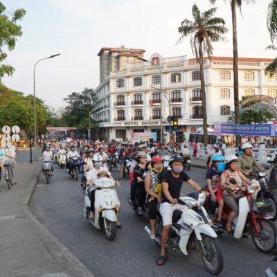 Verkehr in Hue