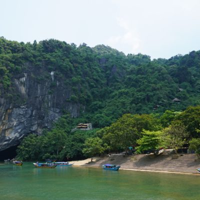 Eingang zur Phong Nha Höhle