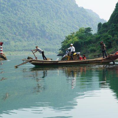 Fähre übern kleinen Teich