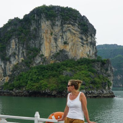 Christl @ Ha Long Bay