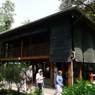 Stellenhaus von Onkel Ho. Das war seine Residenz.