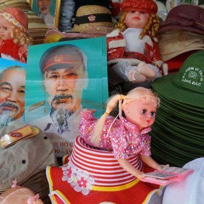 Onkel Ho wird hier gern vermarktet