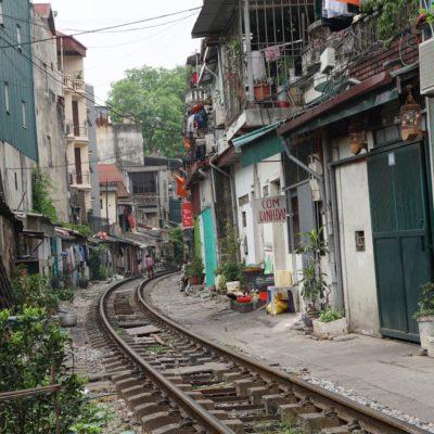 Leben an der Eisenbahnstrecke