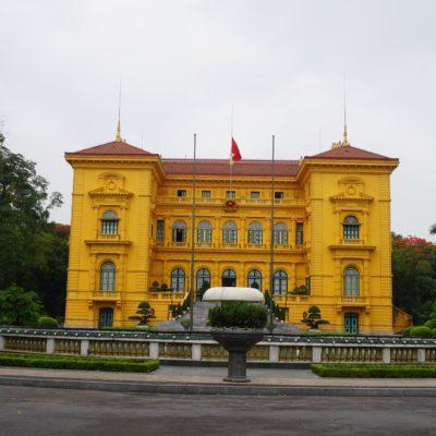 Nochmals Präsidentenpalast