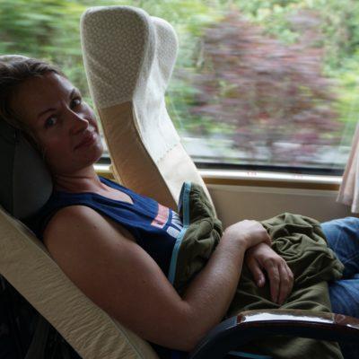 Schön gemütlich im Bus