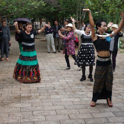 Getanzt wird ganz gern mal in Kunming