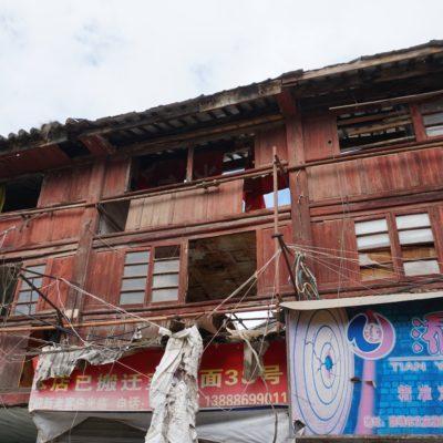 Kunming Oldtown - Wird gerade wieder aufgebaut. Späte Erkenntnis.....!?