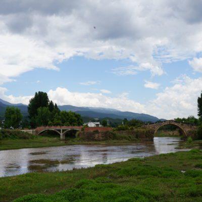 Shaxi Landschaft