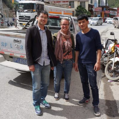 Danke für die Strecke von Lijiang nach Qiaotou
