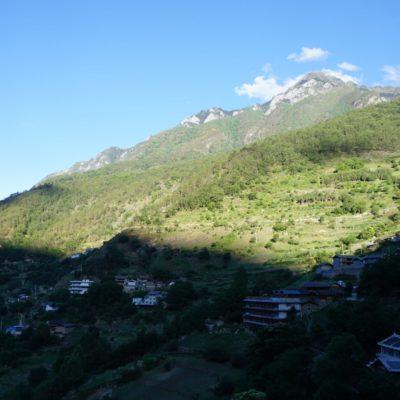 Andere Richtung Haba Shan. Nur ein kleiner Ausläufer