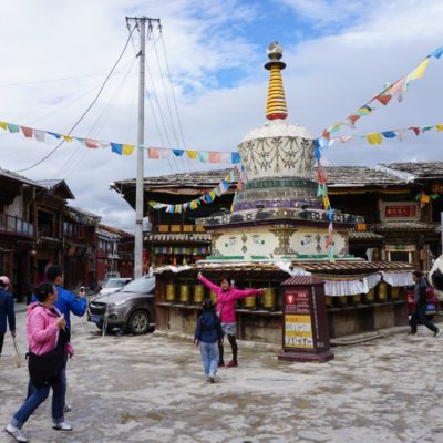 Stupa im Old Town