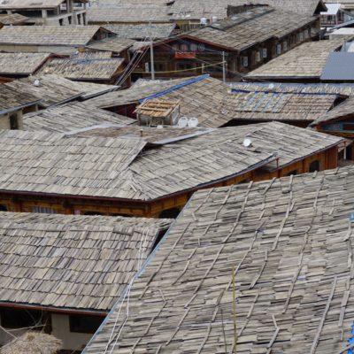 Über den Dächern von Shangri-La. In den Hauptrollen Christl und Winnie