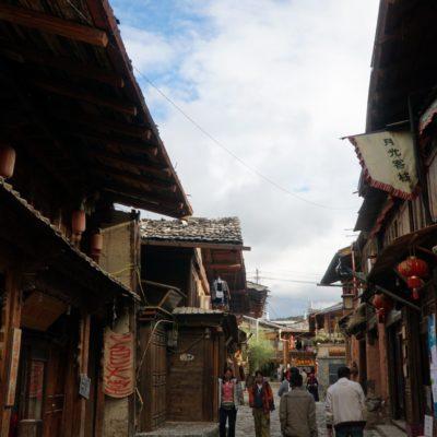 Gasse im Old Town