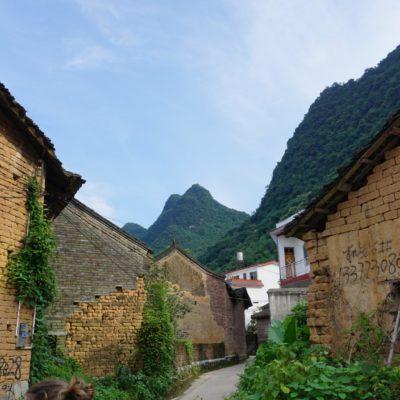Altes Dorf am Radweg