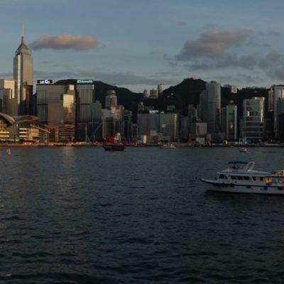 Panorama Hongkong Island