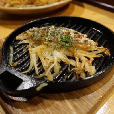 Kartoffelrösti Okonomiyaki-Art