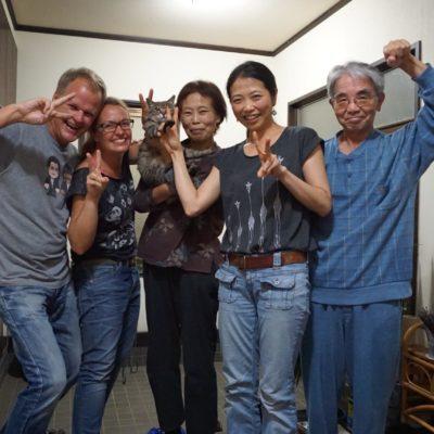 Ein tolles Team. Danke an die Sakai's !!!
