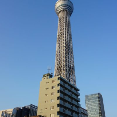 Der Sky Tree Tower in Tokyo