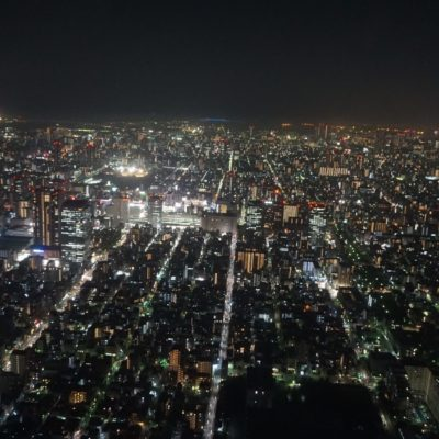 Vom Tower auf Mega Tokyo