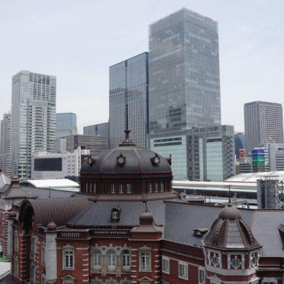 Der alte Tokyo Bahnhof