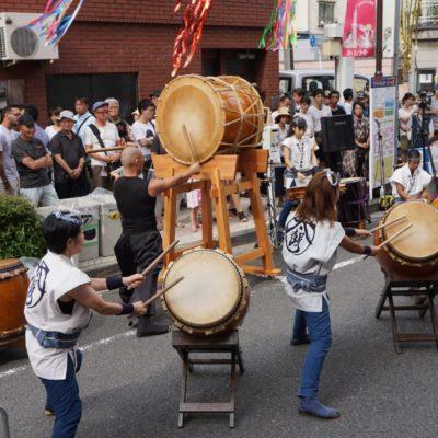 Die Trommler Kombo von Tokyo