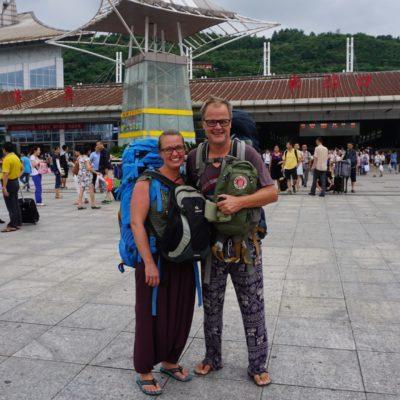 Ankunft in Zhangjiajie, Yeah !