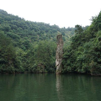 Auf dem Bao Feng See