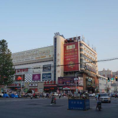 In der Stadt beim Einkaufen