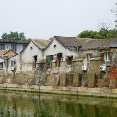 Hutongs an der verbotenen Stadt