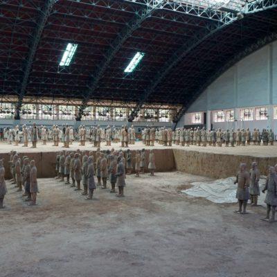 Bei der Terrakotta Armee